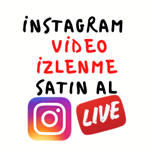 instagram video izlenme