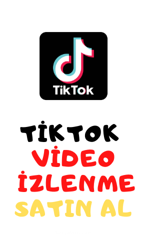 tiktok video izlenme satın al